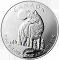 Canadian Wildlife Wolf Silbermünzen kaufen