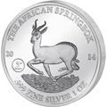 Gabun Springbock Silbermünzen kaufen