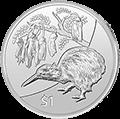Kiwi Silbermünzen kaufen