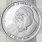 Kongo African Wildlife Silbermünzen kaufen