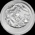 Lunar Drache Silbermünzen kaufen