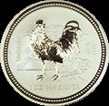 Lunar Hahn Silbermünzen kaufen