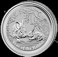 Lunar Hase Silbermünzen kaufen