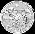 Lunar Ochse Silbermünzen kaufen