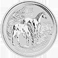 Lunar Pferd Silbermünzen kaufen