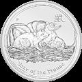 Lunar Ratte Silbermünzen kaufen