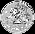 Lunar Tiger Silbermünzen kaufen