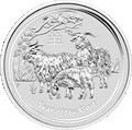 Lunar Ziege Silbermünzen kaufen