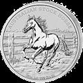Stock Horse Silbermünzen kaufen