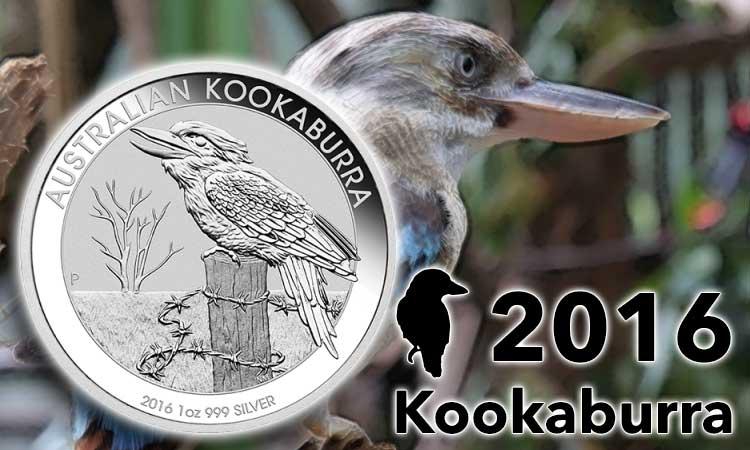 1oz Kookaburra Silber 2016