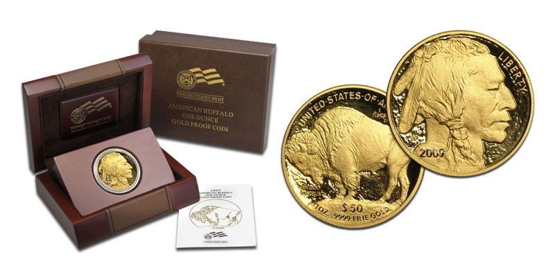 Gold Buffalo Proof Set
