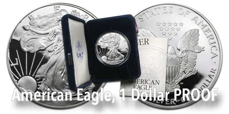 Silber American-Eagle Proof
