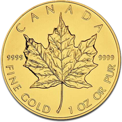 maple-leaf gold