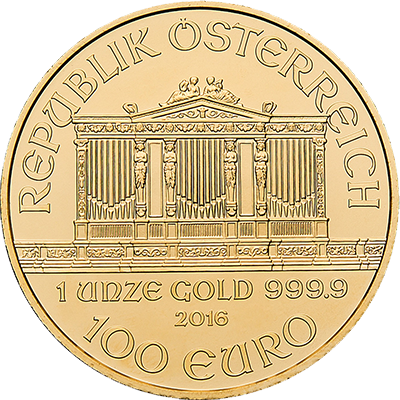 1 Unze Feingold als 1oz Goldmünze