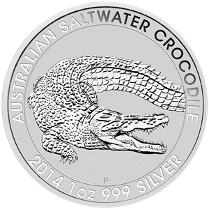 australian-saltwater-crocodile silver