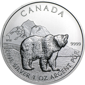 canadian-wildlife-grizzly silver