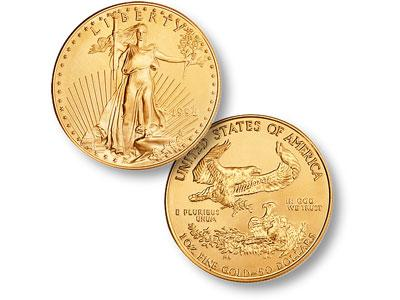 1 Oz Gold Eagle 01