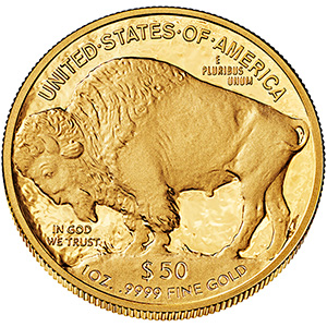 American Buffalo One Ounce Gold Proof Coin BU 2