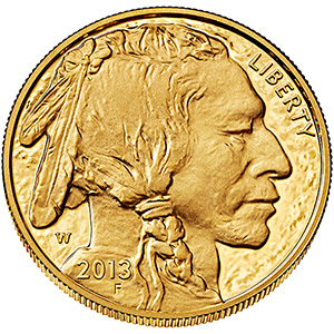American Buffalo One Ounce Gold Proof Coin BU