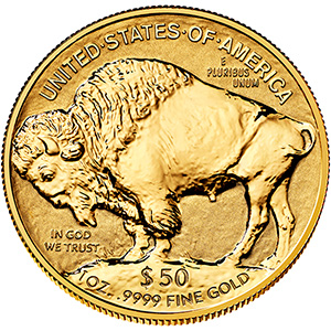 American Buffalo One Ounce Gold Reverse Proof Coin BV1 2