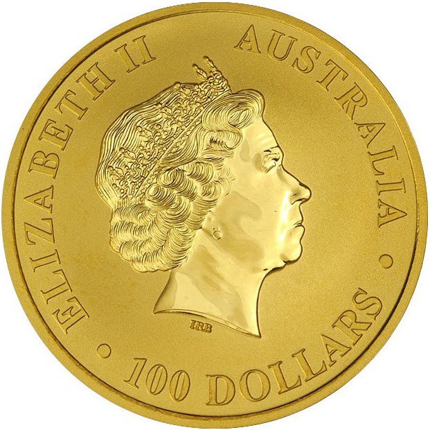 1oz gold kaenguru 2014 vs
