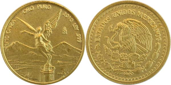 gold libertad 2010