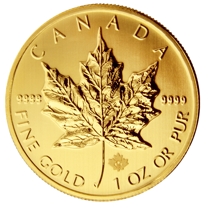2013 gold maple leaf reverse