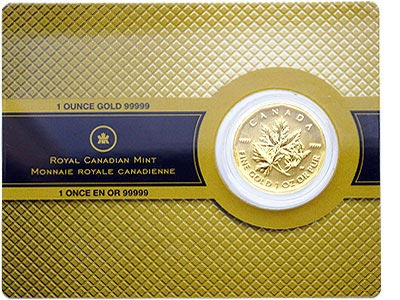 gold maple leaf limited edition 99999