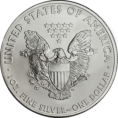 1oz 2014 silver american eagle reverse