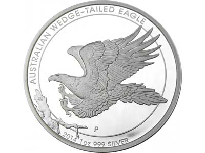 2014 proof australian 1oz wedge tail eagle silver coin 4