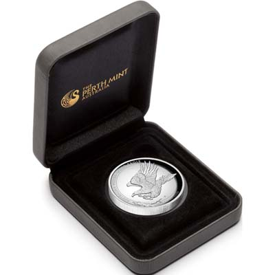 Australian Wedge Tailed Eagle 2014 Silver Coin Case