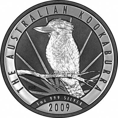 2009 australia 1dollar kookaburra