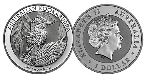 2014 1oz kookaburra