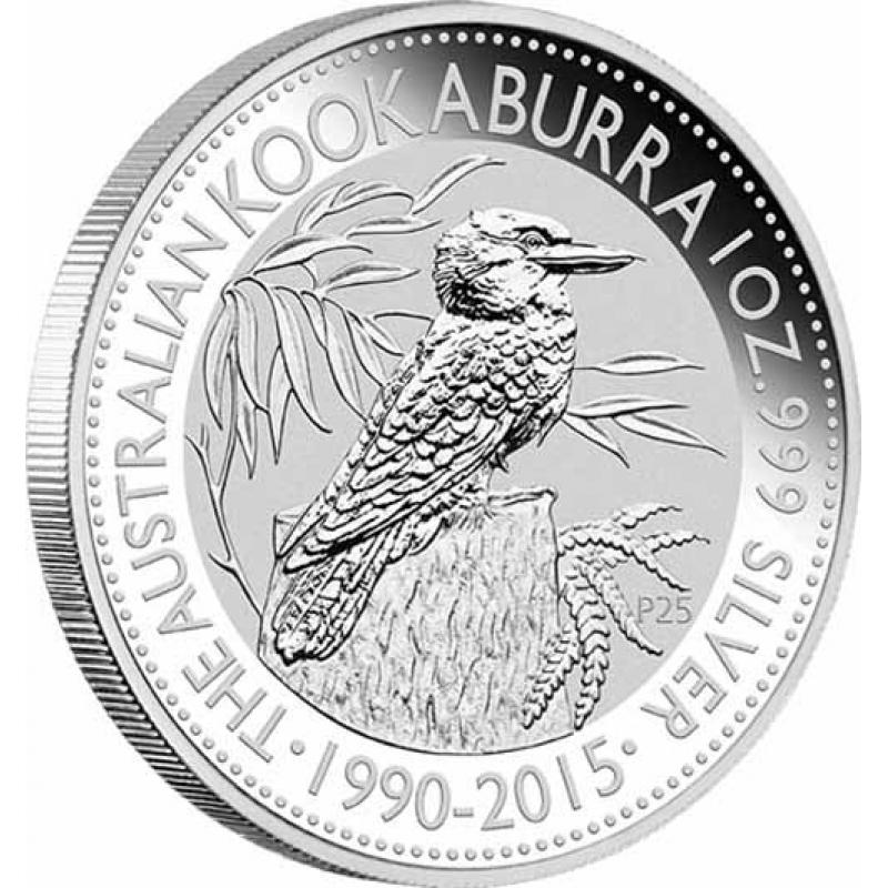 2015 Australien 1 Unze Silber Kookaburra
