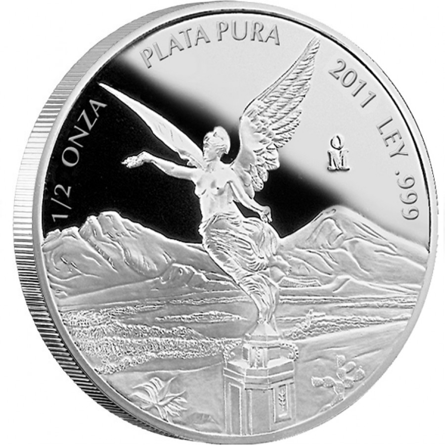 1 2oz silber libertad 2011 proof