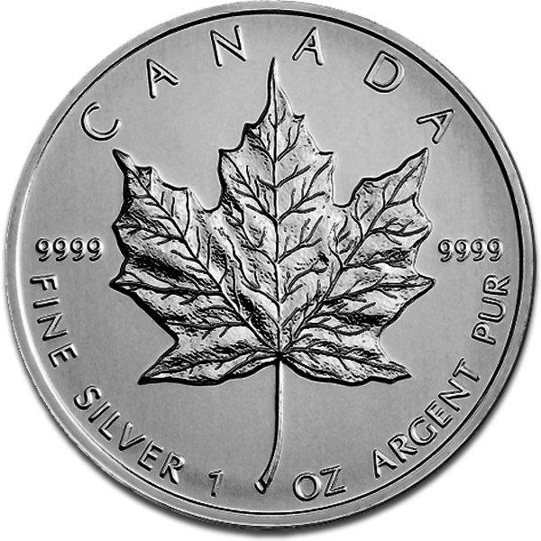 maple leaf 1oz silver 2013 vorderseite