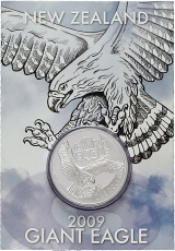 1 OZ Silber NZL Giant Eagle