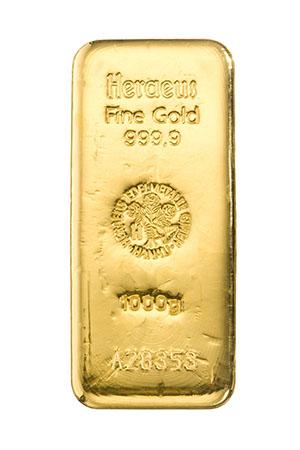 Goldpreis steigt, weil Notenbanken die Märkte mit Geld fluten