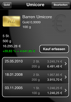 iBullion - Bullion-Investor App Screenshot 3