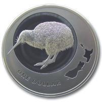 Kiwi 1oz Silber 2009