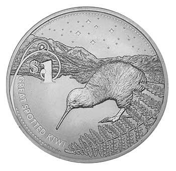 Kiwi 1oz Silber 2007