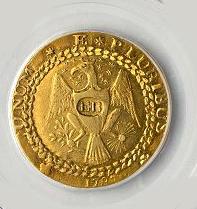 Brasher Doubloon Dublone Goldmünze aus den USA 1787