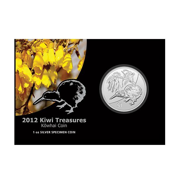 Kiwi 2012 Silber BU - in Karte - bereits vor Jahreswechsel ausverkauft