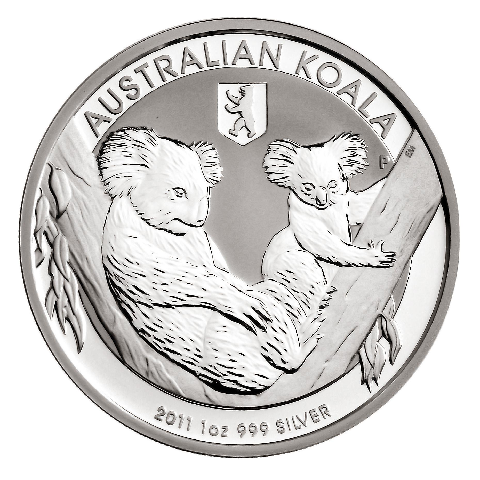 Im Vergleich zum regulären Koala ist die Privymark-Ausgabe 2011  eine Rarität