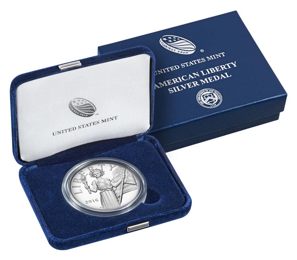 2016 American Liberty Silber Box