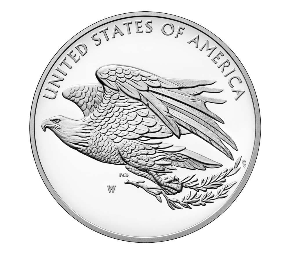 2016 American Liberty Silber Rückseite