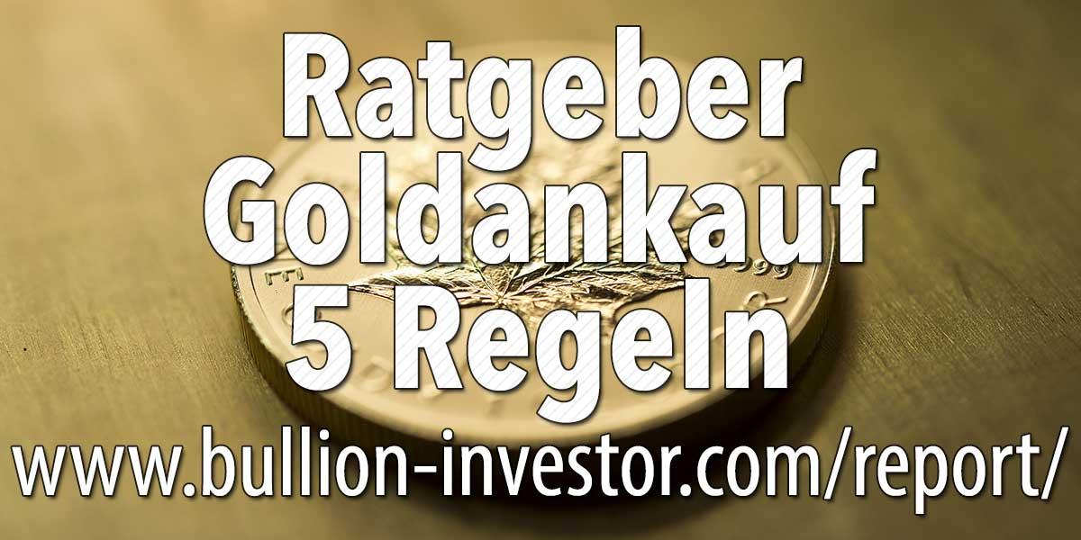 Ratgeber Goldankauf — 5 wichtige Regeln für den Altgold-Verkauf