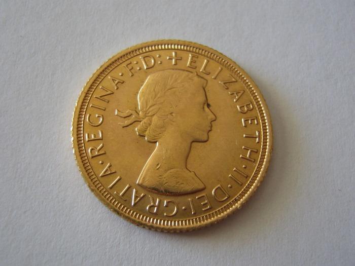 Sovereign 1958 Elisabeth Gold