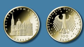 Goldeuro 100 Euro 2012 Aachen - Entwurf