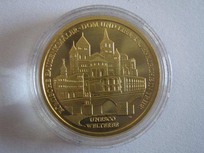 Goldeuro 100 Euro Trier 2009 Stadtseite